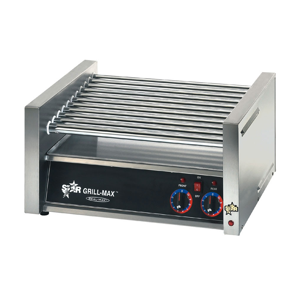 Star 50C 50 Hot Dog Roller Grill - Slanted Top, 120v
