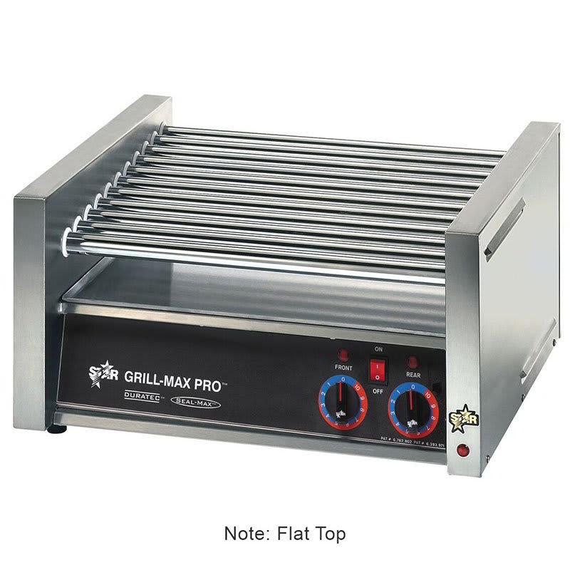 Star 50CF 50 Hot Dog Roller Grill - Flat Top, 120v