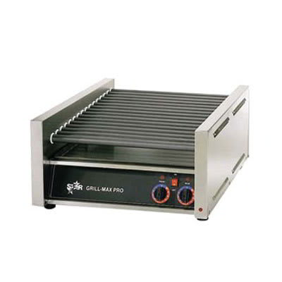 Star 50SC CSA-120 50 Hot Dog Roller Grill - Slanted Top, 120v, CSA