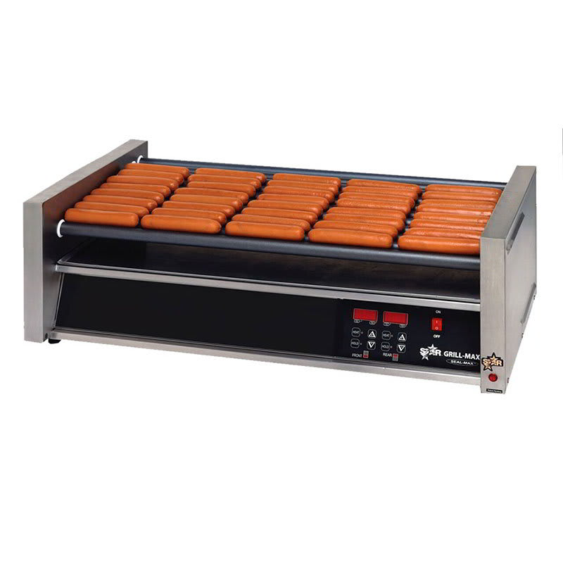Star 50SCE 50 Hot Dog Roller Grill - Slanted Top, 120v