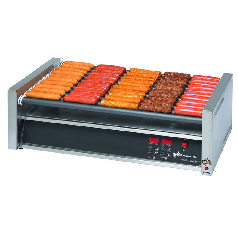 Star 50SCF CSA-120 50 Hot Dog Roller Grill - Flat Top, 120v, CSA