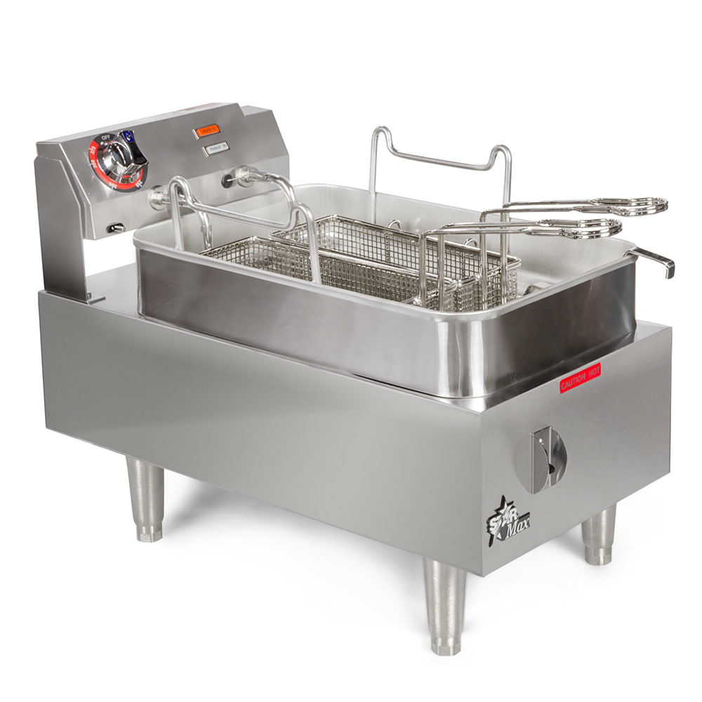 Star 515F Countertop Electric Fryer - (1) 15-lb Vat, 208v/1ph