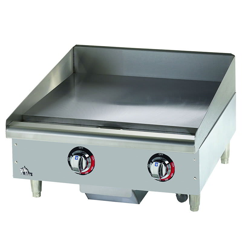 """Star 524TGF 24"""" Electric Griddle - Thermostatic, 1"""" Steel Plate, 240v/3ph"""