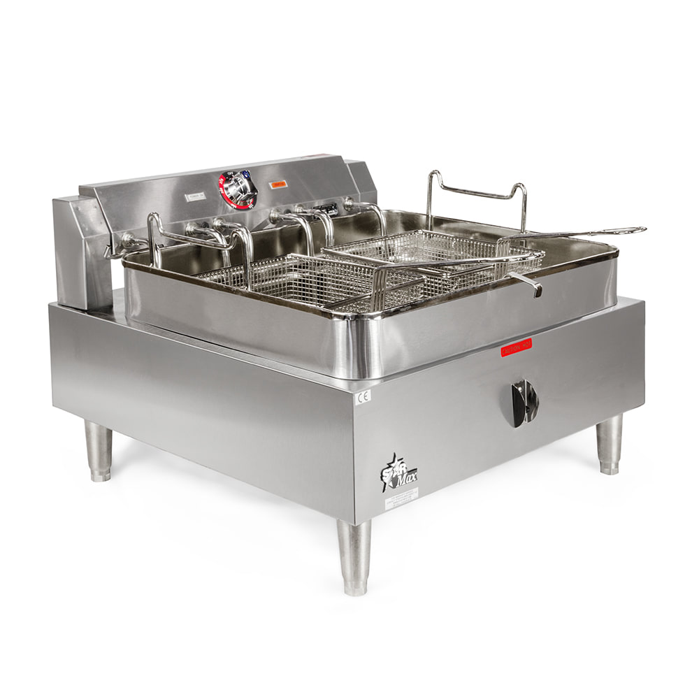 Star 530FF Countertop Electric Fryer - (1) 30 lb Vat, 208v/1ph