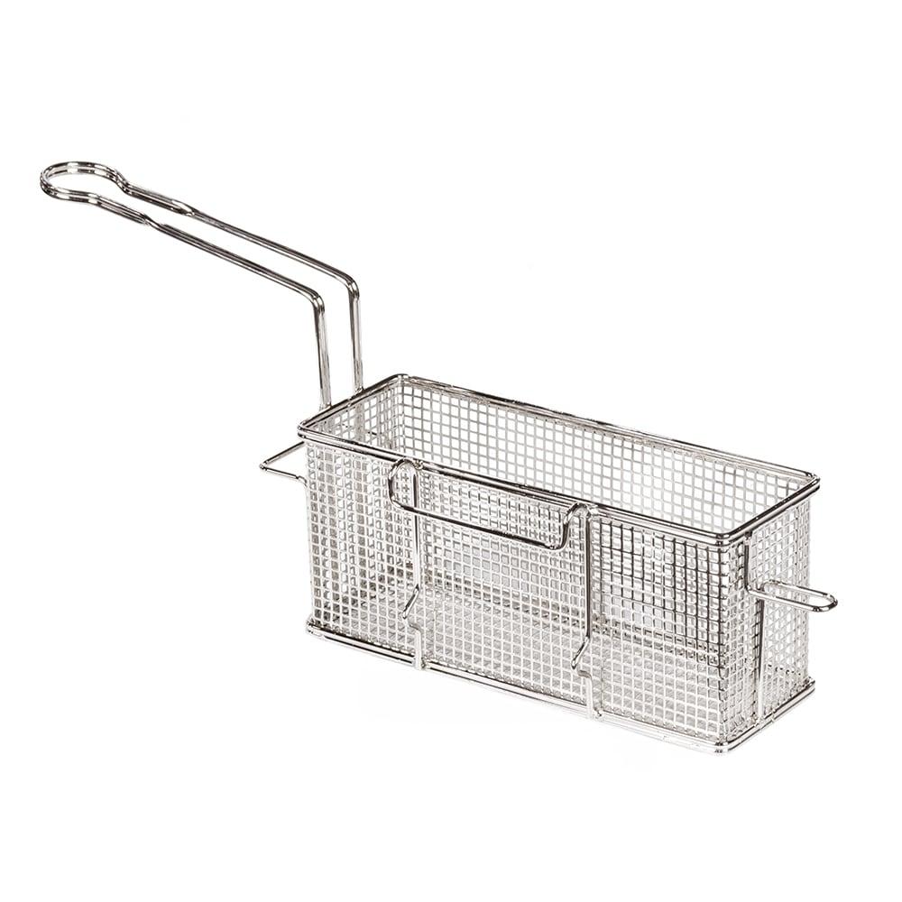"Star 530TBL Fryer Basket w/ Uncoated Handle & Front Hook, 10.5"" x 12.5"" x 4.75"""