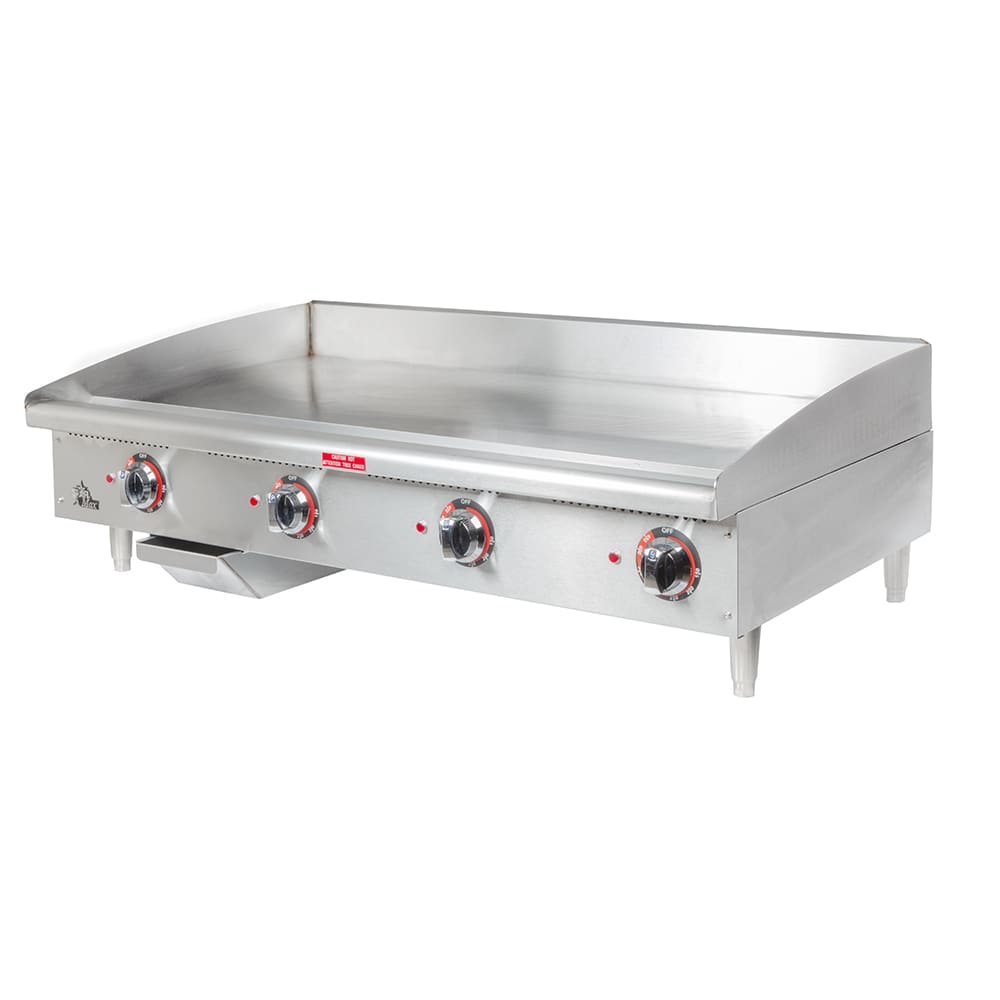 "Star 548TGF 48"" Electric Griddle - Thermostatic, 1"" Steel Plate, 240v/3ph"