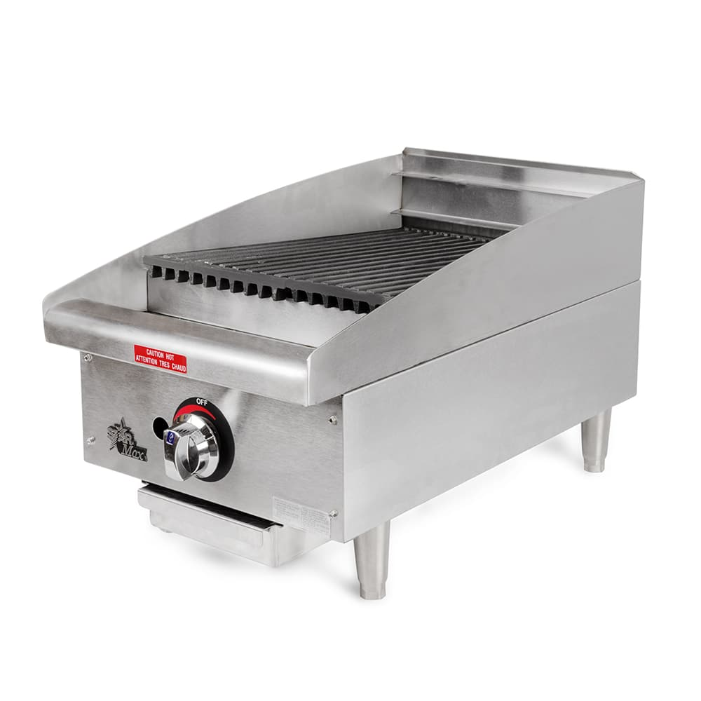 "Star 6115RCBF 15"" Gas Charbroiler - Adjustable Manual Controls"