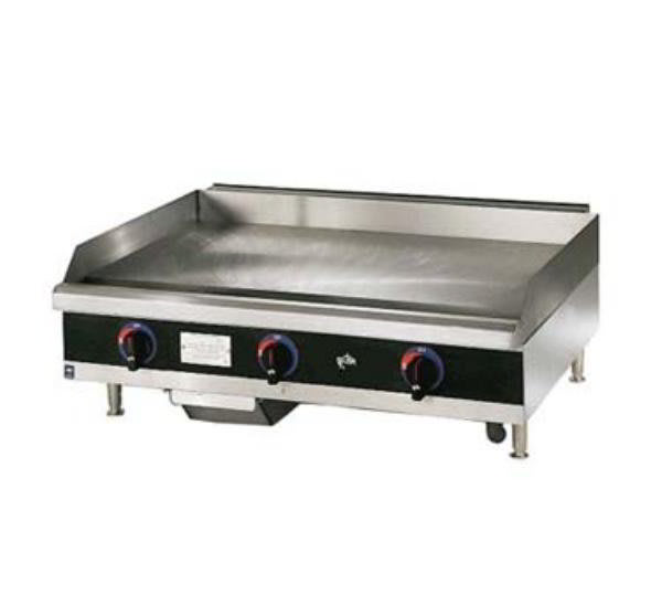 Star 624MD Griddle, Gas, 24-in,  w/ .75-in Steel Plate & Manual Controls