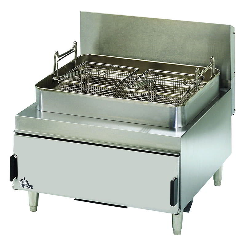 Star 630FF Countertop Gas Fryer - (1) 30 lb Vat, Twin Baskets, NG