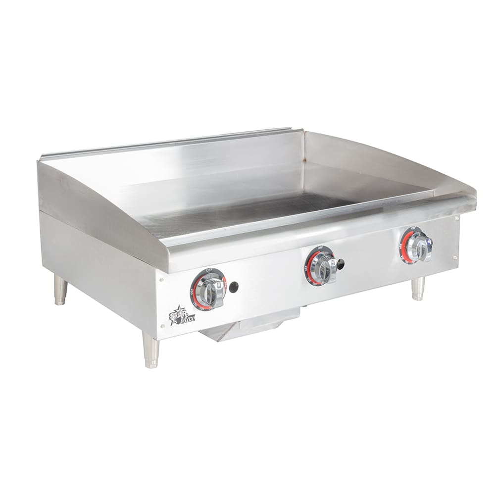 "Star 636TF 36"" Gas Griddle - Thermostatic, 1"" Steel Plate"