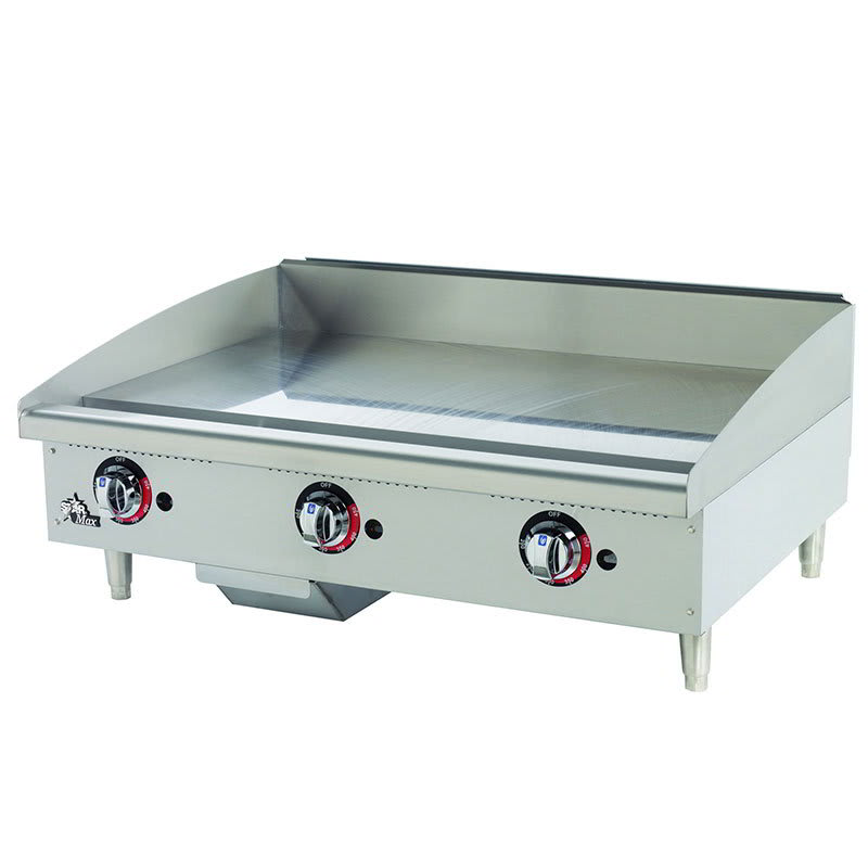 "Star 636TSPF 36"" Gas Griddle - Thermostatic, 1"" Steel Plate"