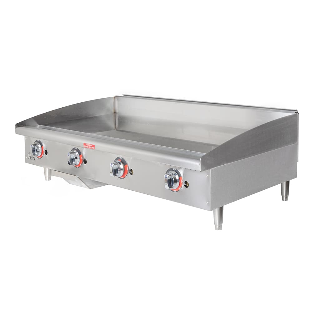 "Star 648TF 48"" Gas Griddle - Thermostatic, 1"" Steel Plate"