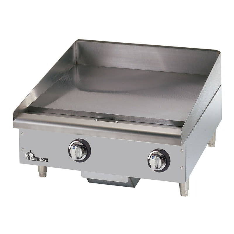 "Star 724TA 24"" Electric Griddle - Thermostatic, 1"" Steel Plate, 208v/1ph"