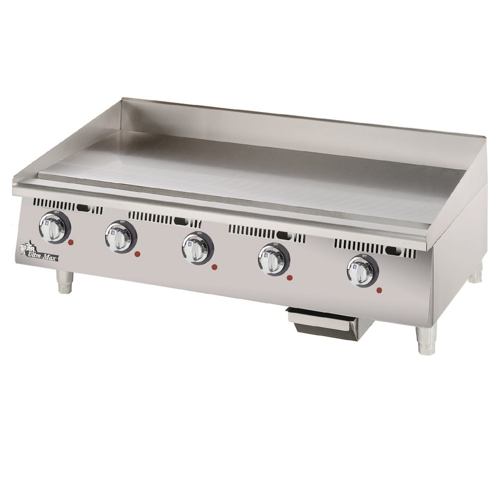 "Star 760TA 60"" Electric Griddle - Thermostatic, 1"" Steel Plate, 208v/1ph"