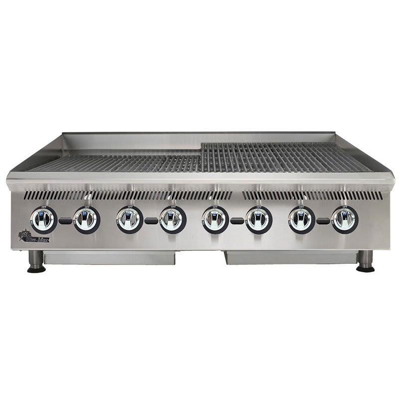 "Star 8148RCBB 48"" Charbroiler w/ Manual Controls & Steel Radiants, 160000 BTU, NG"