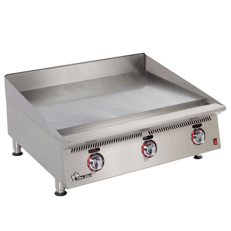 "Star 836TSA 36"" Gas Griddle - Thermostatic, 1"" Steel Plate, NG"