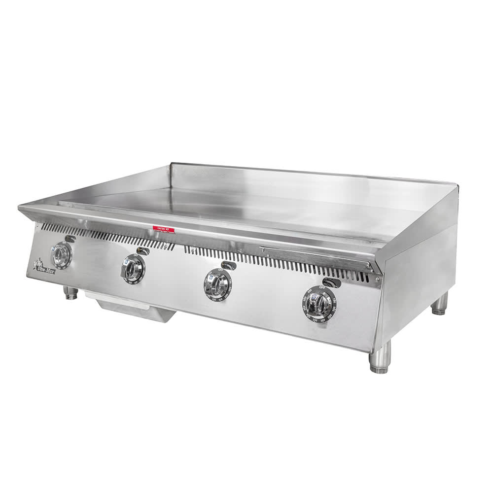 """Star 848TA 48"""" Gas Griddle - Thermostatic, 1"""" Steel Plate, NG"""