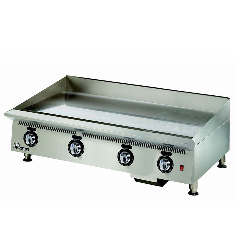 "Star 848TSA 48"" Gas Griddle - Thermostatic, 1"" Steel Plate, NG"
