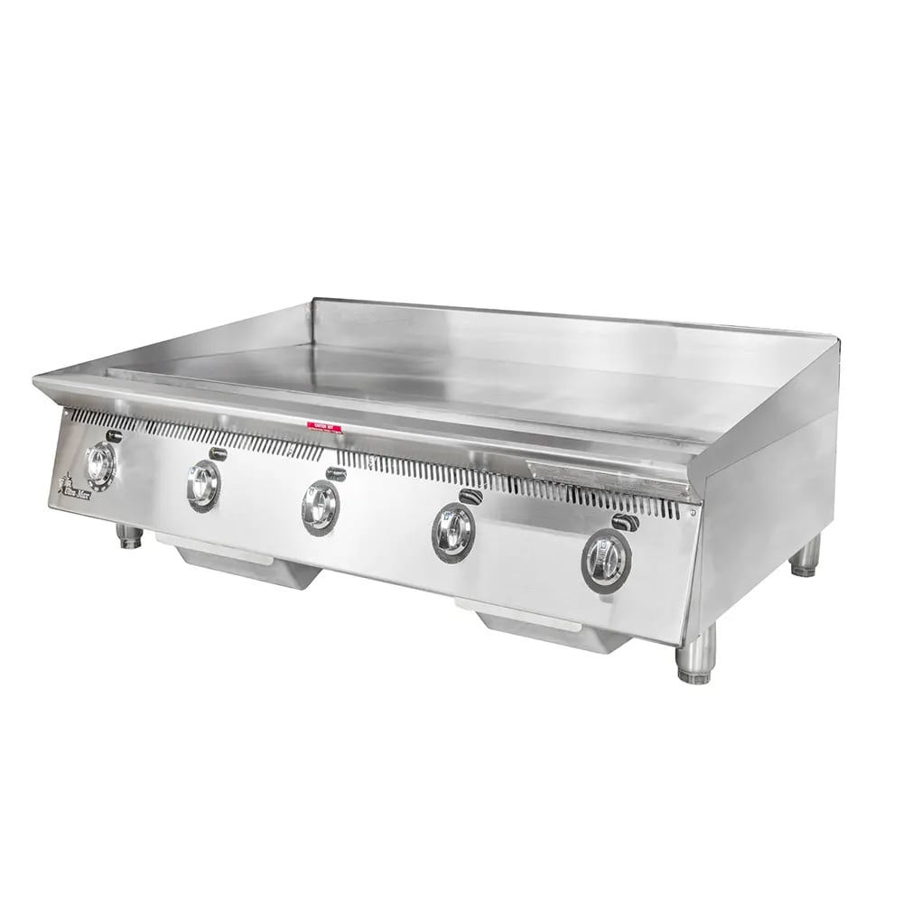"""Star 860MA 60"""" Gas Griddle - Manual, 1"""" Steel Plate, NG"""