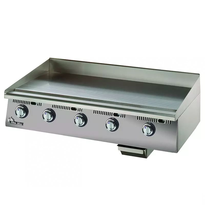 "Star 872MA 72"" Gas Griddle - Manual, 1"" Steel Plate"