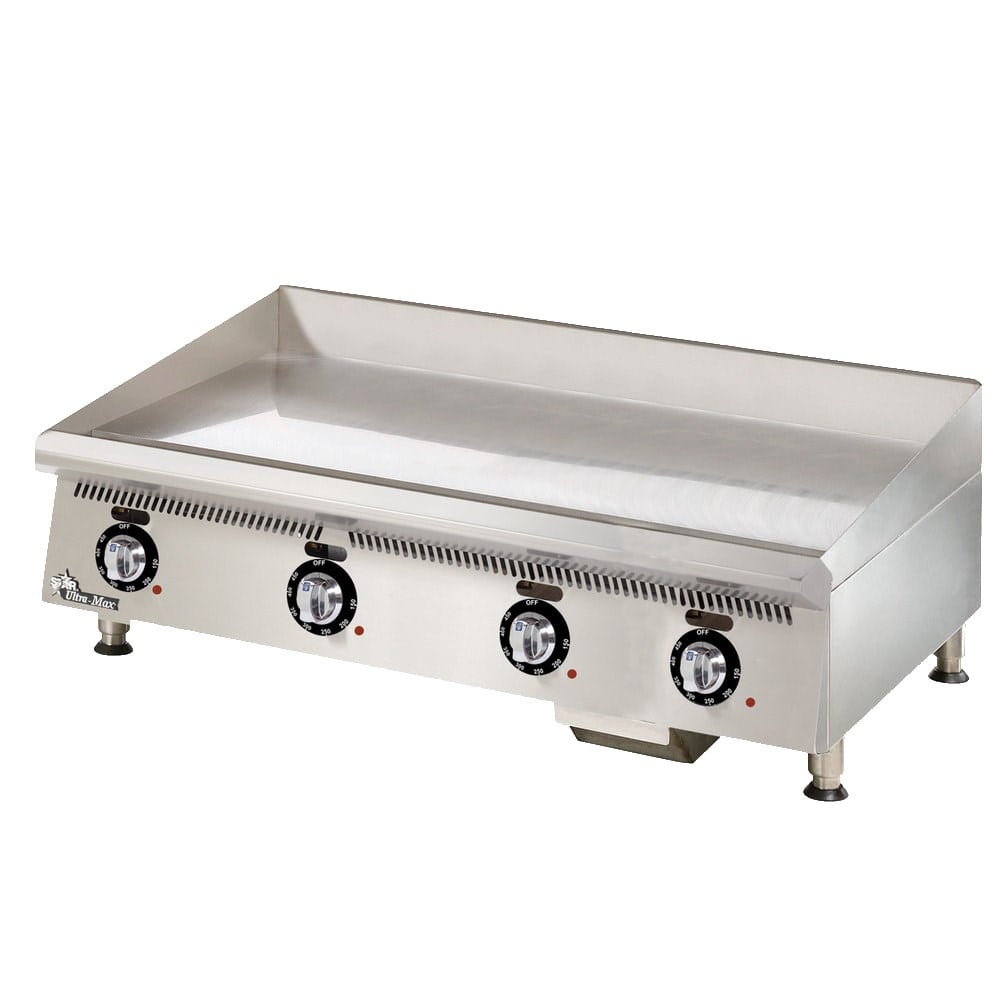 "Star 872TCHSA 72"" Gas Griddle - Thermostatic, 1"" Chrome Plate, NG"