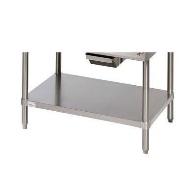 Star ESUM48SF Floor Model Stand, 47 x 24.25 x 22-in, w/ Bottom Shelf, Stainless
