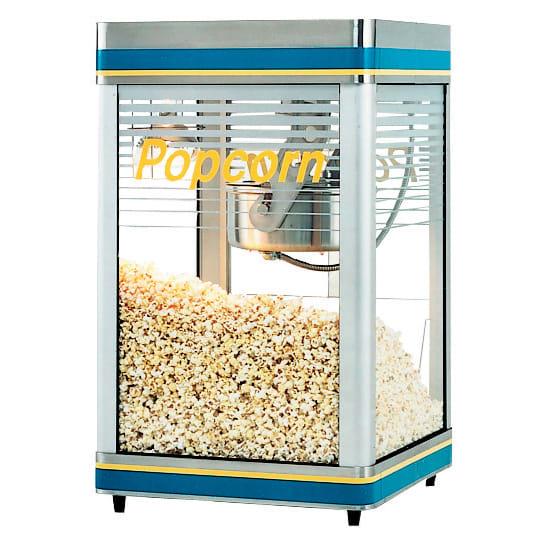 Star G18-Y 18 oz Popcorn Machine, Infrared Heat Lamp, 240v/1ph