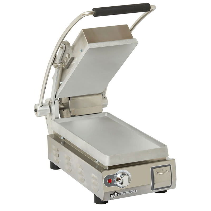 Star PST7 Commercial Panini Press w/ Aluminum Smooth Plates,120v