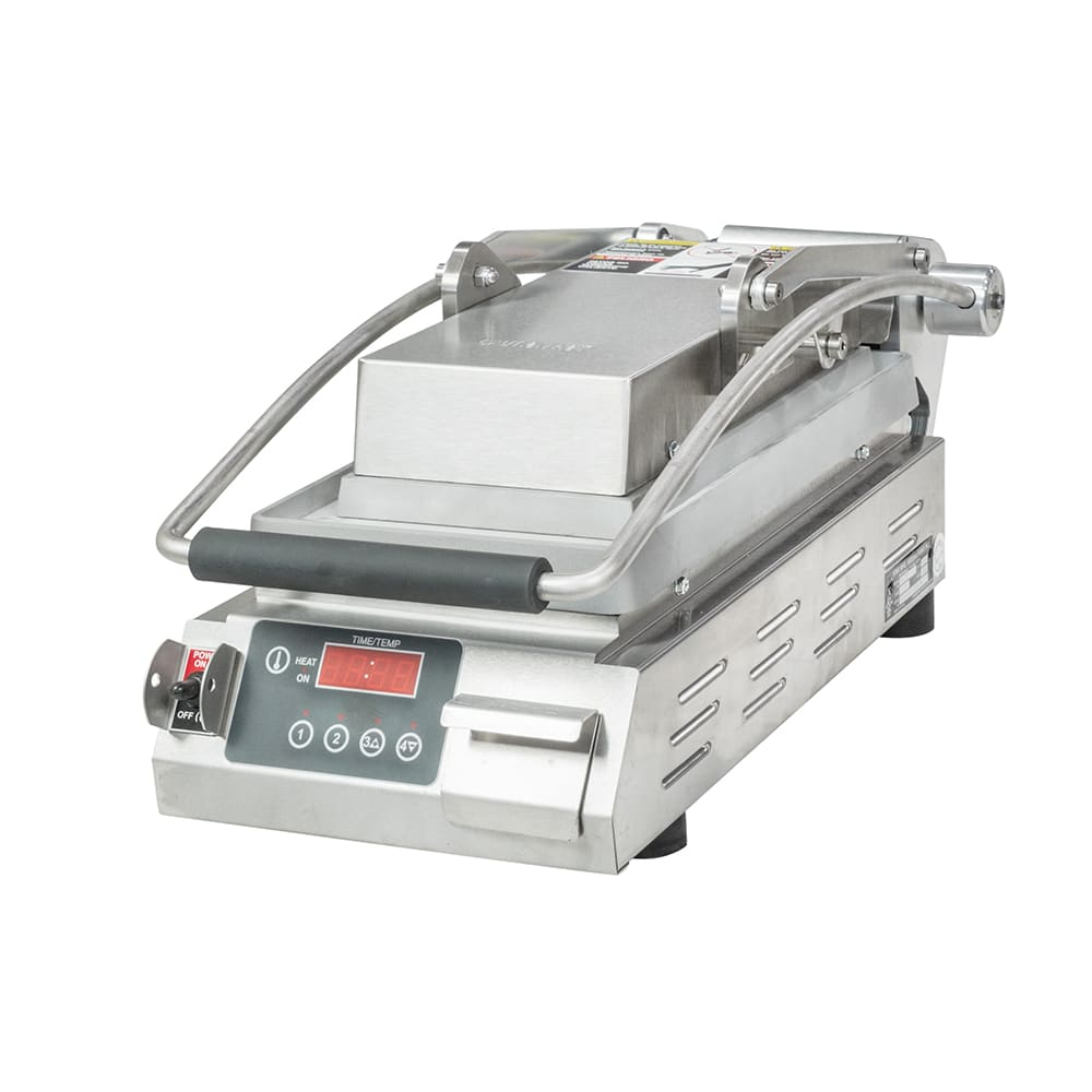 Star PST7E Commercial Panini Press w/ Aluminum Smooth Plates, 120v