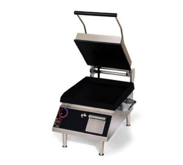 Star PST28I Commercial Panini Press w/ Cast Iron Smooth Plates, 208-240v/1ph