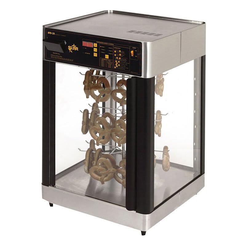Star HFD2AP-CUL 120 Humidified Display Cabinet w/ Pretzel Rack, 1-Door, 120 V