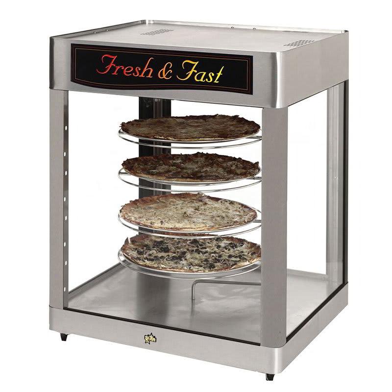 "Star HFD-3ACR 28.25"" Heated Pizza Merchandiser w/ 4 Levels, 120v"