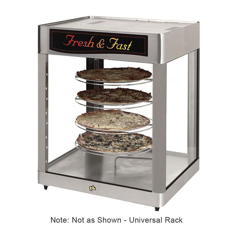 Star HFD3ASPT Humidified Display Cabinet, Pass/See-Thru, 4-Shelf Universal Rack