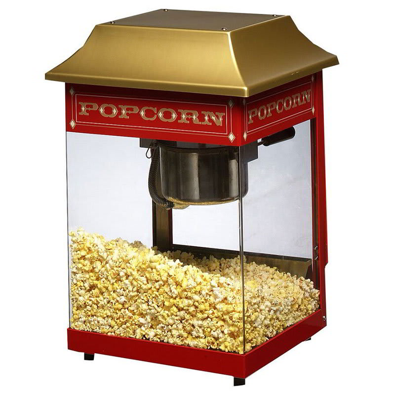Star J4R Counter Popcorn Popper, 4 oz Kettle, (115) 1 oz Servings, 120v