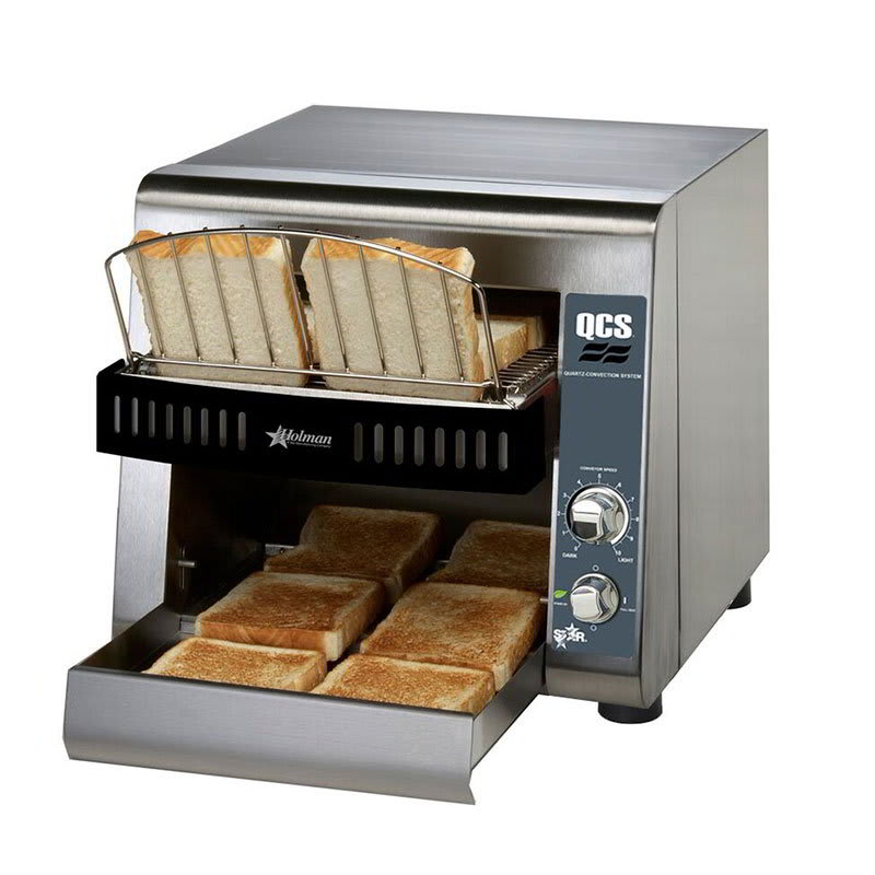 "Star QCS1-350 Conveyor Toaster - 350 Slices/hr w/ 1.5"" Product Opening, 120v"