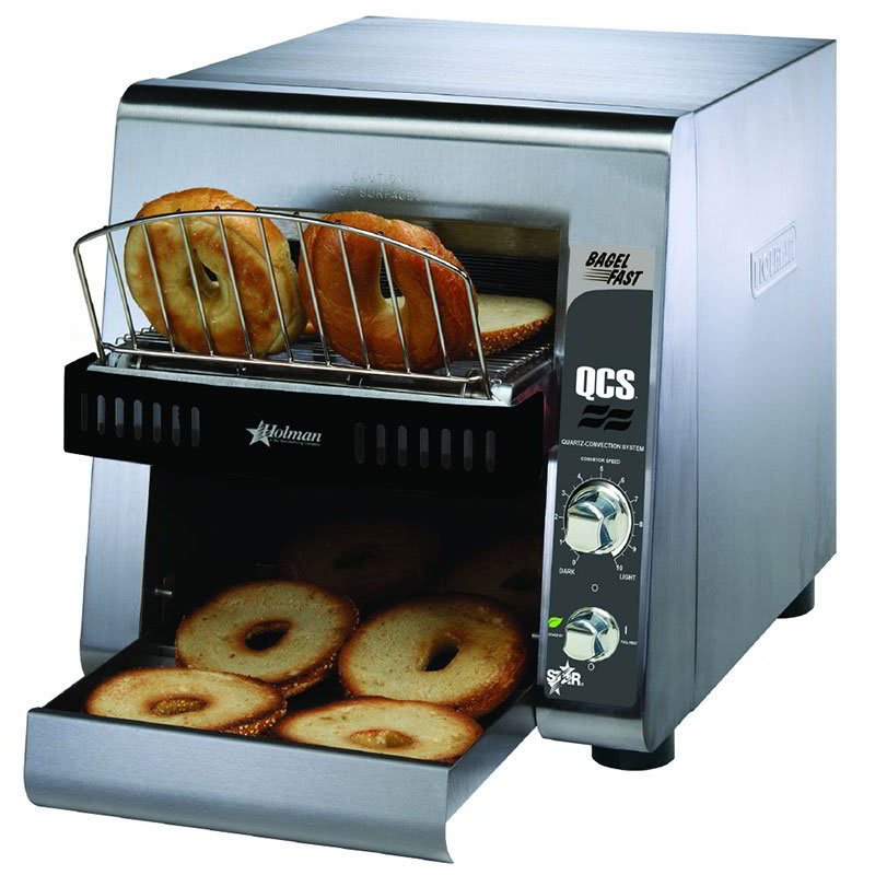 "Star QCS2-1200B Conveyor Toaster - 1200 Slices/hr w/ 10""w Belt, 208v/1ph"