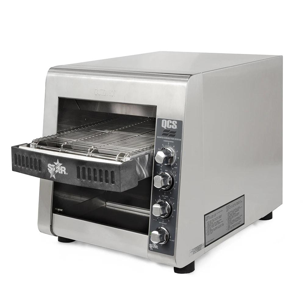 "Star QCS2-600H Conveyor Toaster - 600 Slices/hr w/ 10""W Belt, 240v/1ph"
