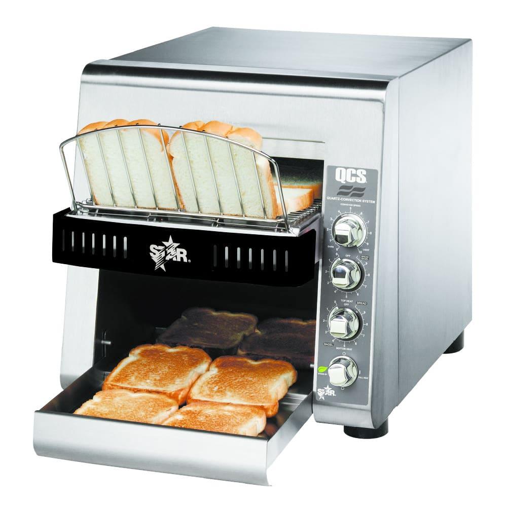 "Star QCS2-800 Conveyor Toaster - 800-Slices/hr w/ 10""W Belt, 240v/1ph"