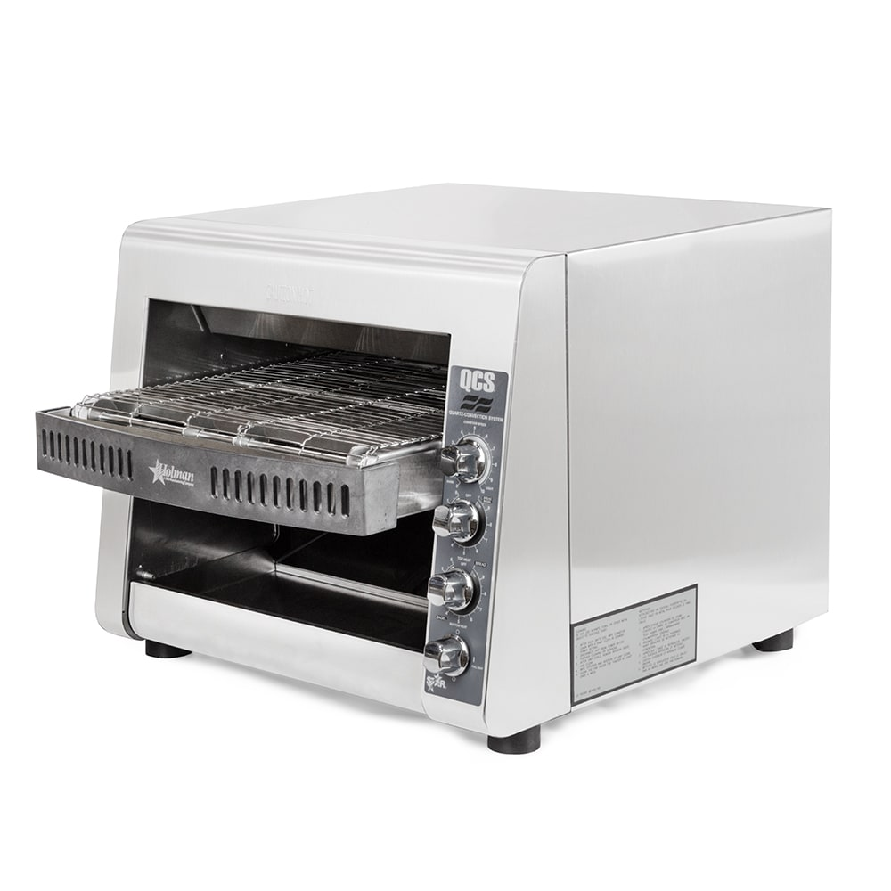 "Star QCS3-1000 Conveyor Toaster - 1000-Slices/hr w/ 14""W Belt, 240v/1ph"