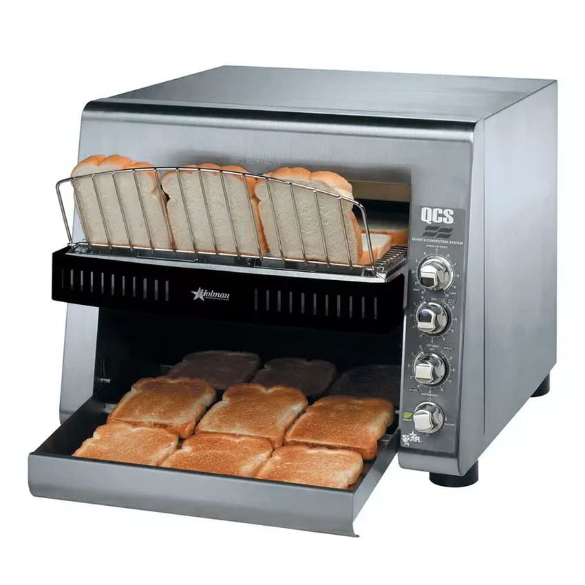 "Star QCS3-1300 Conveyor Toaster - 1300 Slices/hr w/ 14""W Belt, 208v/1ph"
