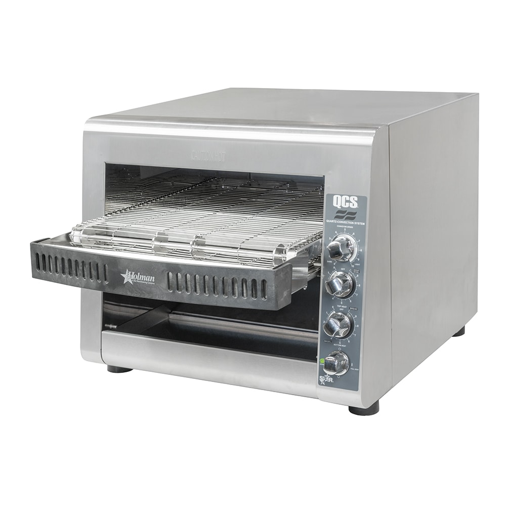"Star QCS3-950H Conveyor Toaster - 950 Slices/hr w/ 14""W Belt, 208v/1ph"