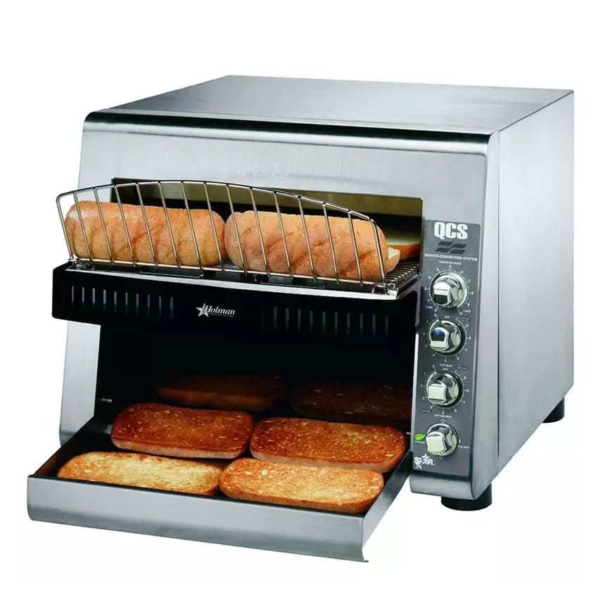 "Star QCS3-950H Conveyor Toaster - 950 Slices/hr w/ 14""W Belt, 240v/1ph"