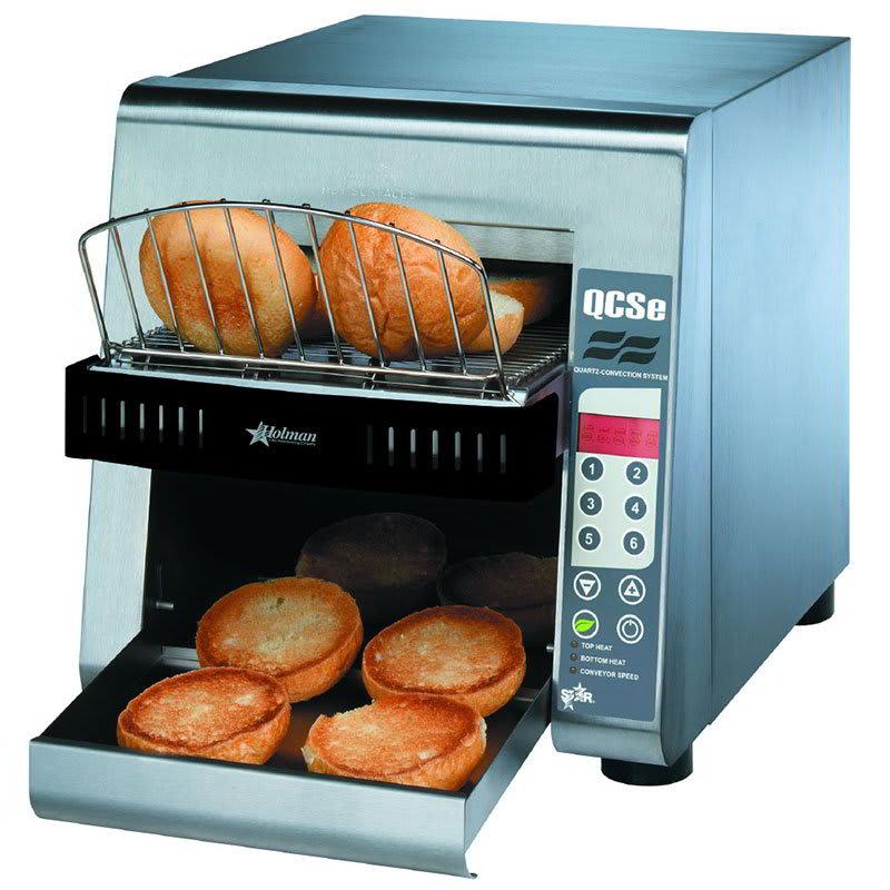 "Star QCSE2-600H Conveyor Toaster - 600-Slices/hr w/ 10""W Belt, 208v/1ph"