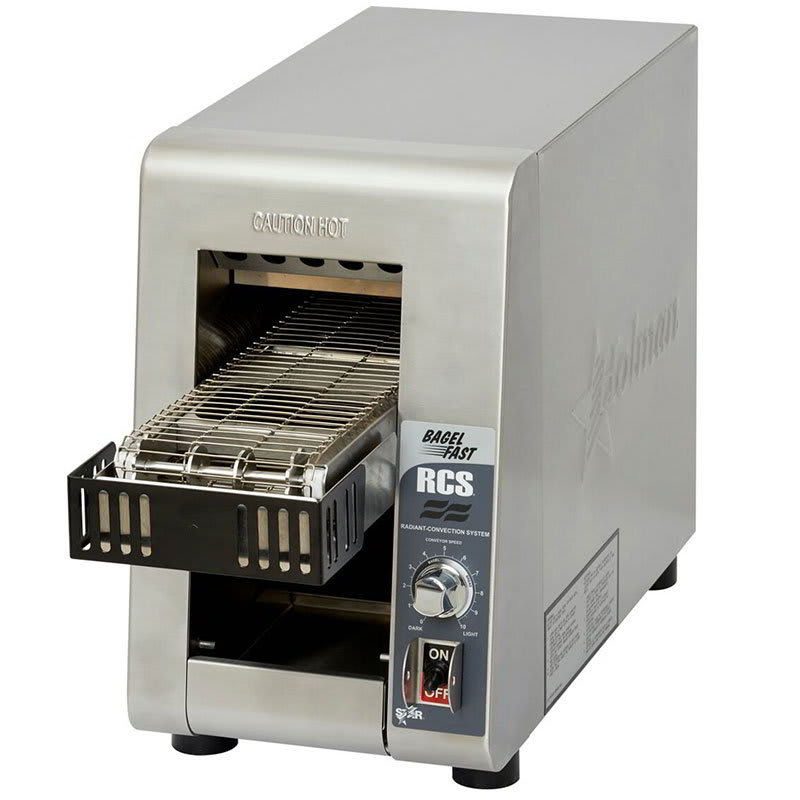 "Star RCS2-600BN Conveyor Toaster - 600 Slices/hr w/ 5""W Belt, 120v"
