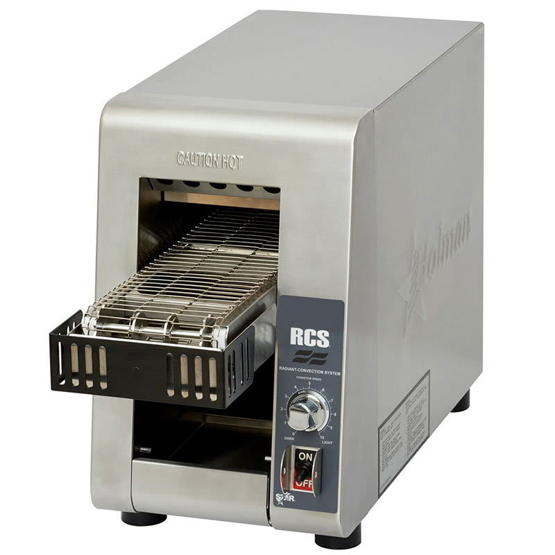 "Star RCS2-600N Conveyor Toaster - 400 Slices/hr w/ 5""W Belt, 120v"