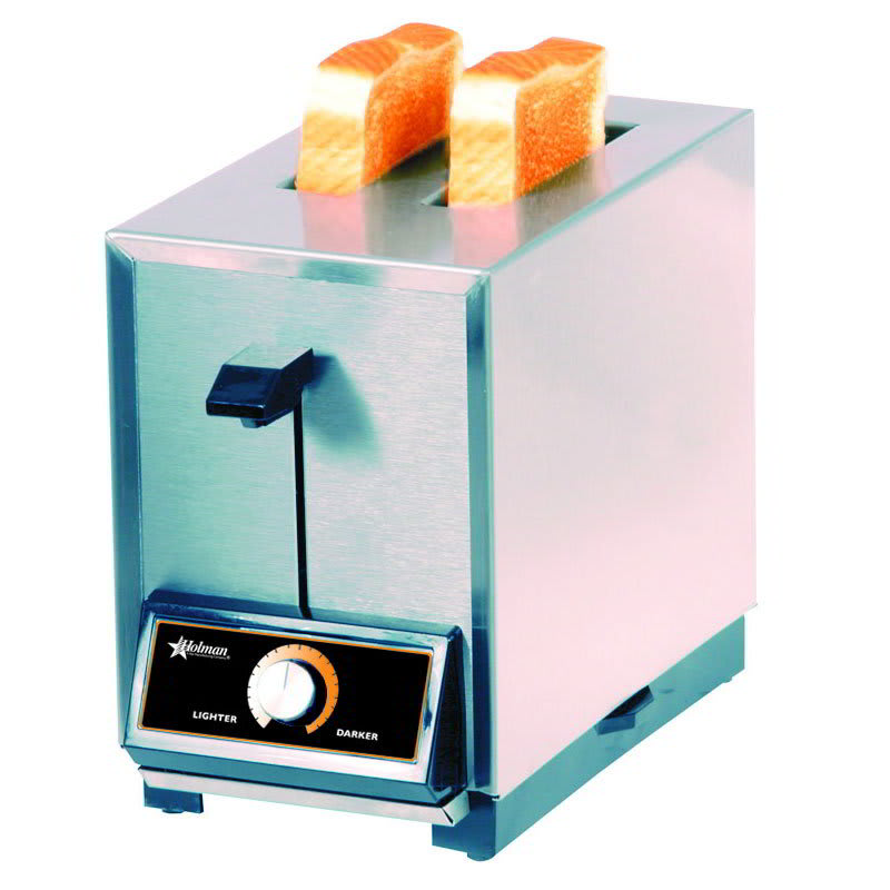 Star T2120 Pop-Up Toaster, 2 Slice Bread or Bagel, Solid State Timer, 120 V