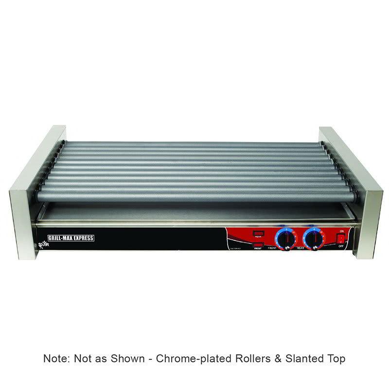 Star X50 50 Hot Dog Roller Grill - Slanted Top, 120v