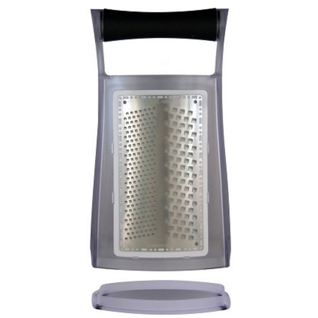Jaccard 201204BGF2 Box Grater w/ MicroEdge Technology, Stainless Frames & Paddles