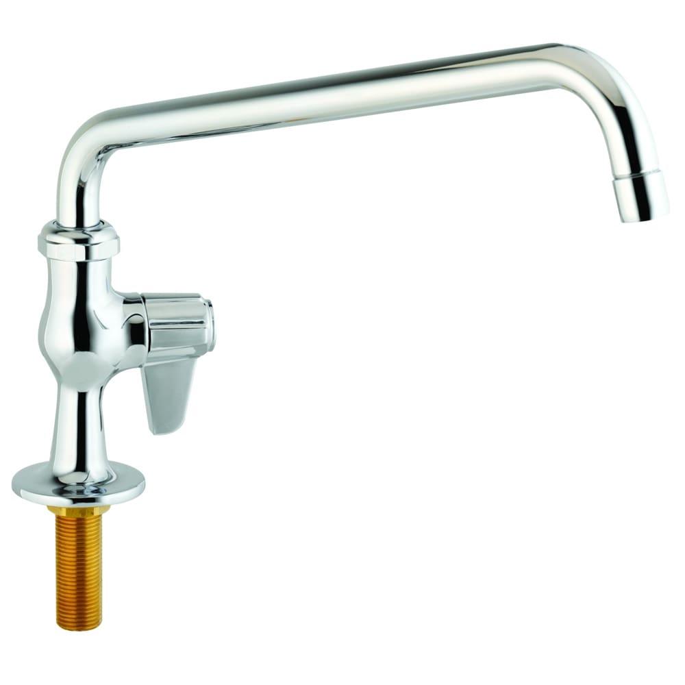 """T&S 5F-1SLX18 Equip Faucet, 18"""" Spout, Single Hose"""