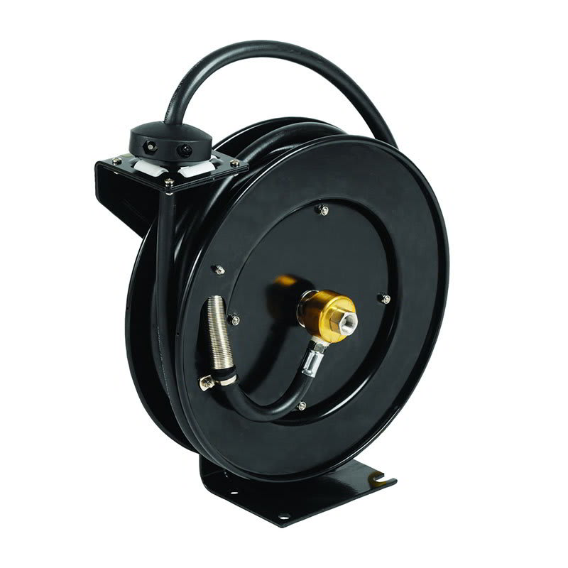 "T&S 5HR-232 Equip Open Hose Reel, 35 ft of 3/8""Diameter, Powder Coated Steel"